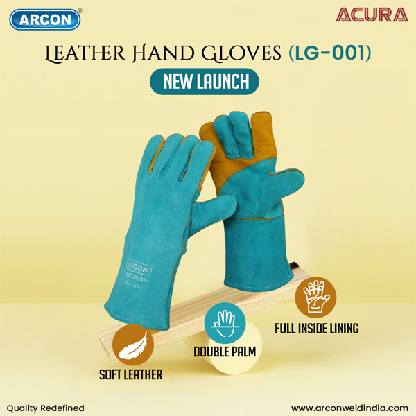 Leather Hand Gloves Infographic