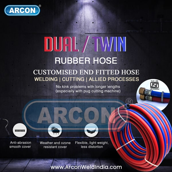 Dual / Twin Rubber Hose for Welding