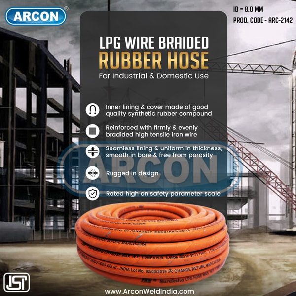 Wire Braided Hose for LPG